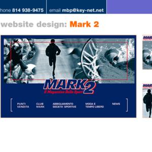 Mark 2 website