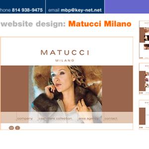 Matucci website