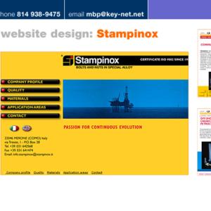 Stampinox website